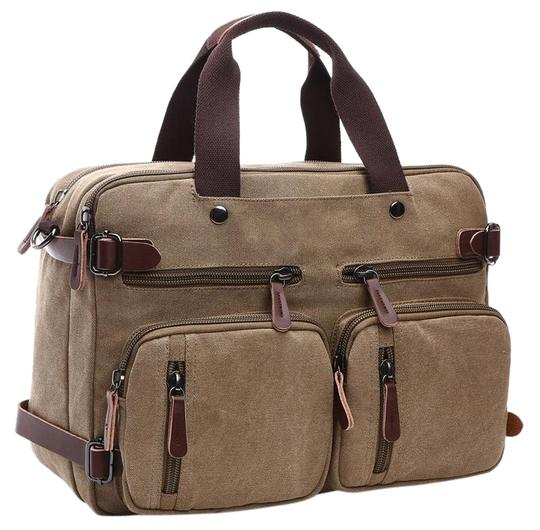 Preload https://img-static.tradesy.com/item/24388467/multi-purpose-khaki-vintage-canvas-backpack-0-1-540-540.jpg
