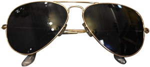 Ray-Ban RayBan Gold Aviator Large Metal Sunglasses