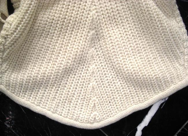 No Boundaries NO BOUNDARIES Ivory Knitted BELTED Sleeveless VEST SWEATER CARDIGAN S Image 7