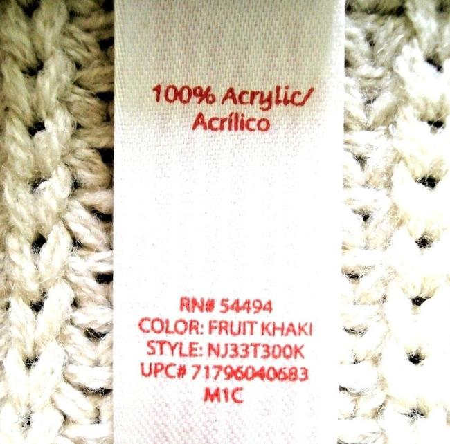 No Boundaries NO BOUNDARIES Ivory Knitted BELTED Sleeveless VEST SWEATER CARDIGAN S Image 9