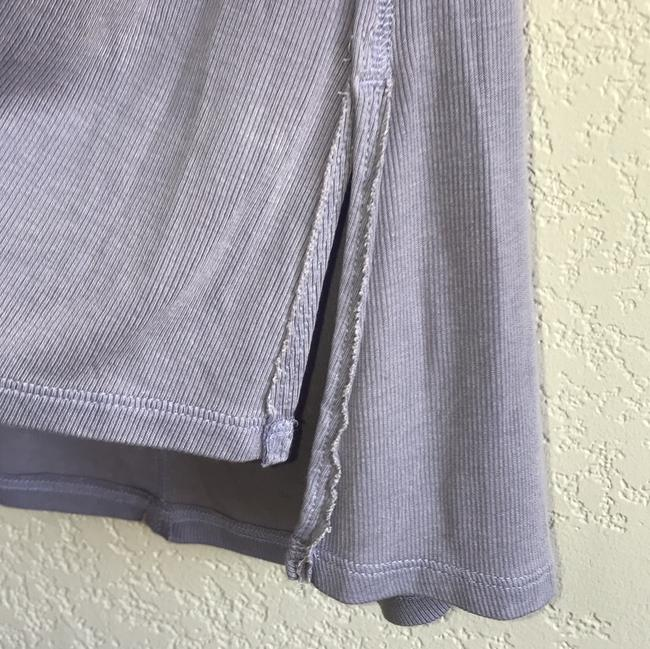 Free People Sleeveless Tie Keyhole Ribbed Relaxed Top lilac mist Image 4