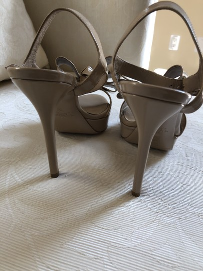 Valentino Heels Bow Pumps Nude Sandals Image 1