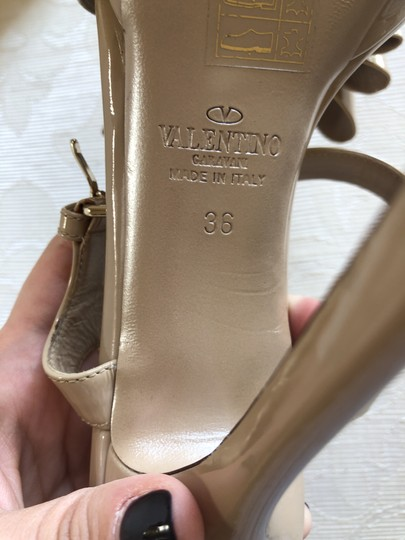 Valentino Heels Bow Pumps Nude Sandals Image 10
