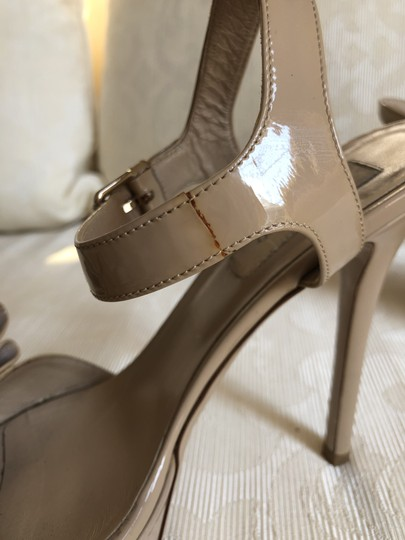 Valentino Heels Bow Pumps Nude Sandals Image 5