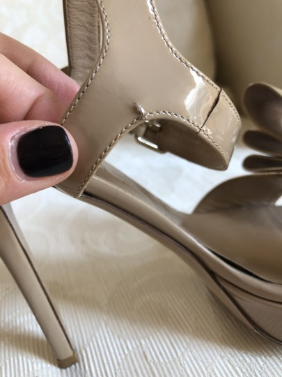 Valentino Heels Bow Pumps Nude Sandals Image 6