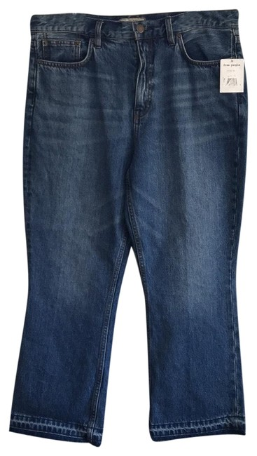 Item - Stone Blue Medium Wash Capri/Cropped Jeans Size 10 (M, 31)