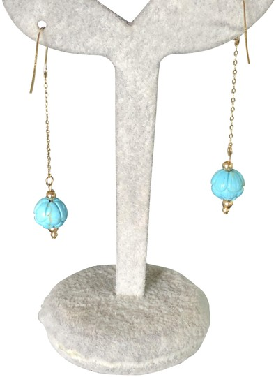 Preload https://img-static.tradesy.com/item/24389010/14k-goldturquoise-sleeping-beauty-beaded-inch-drops-new-earrings-0-9-540-540.jpg