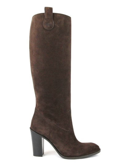 Gucci Leathersuede Tall Knee Brown Suede/2012 Boots Image 5