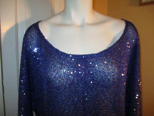 DKNY Knit Sparkley Sequin 001 Sweater Image 1