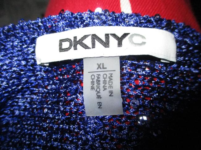 DKNY Knit Sparkley Sequin 001 Sweater Image 2