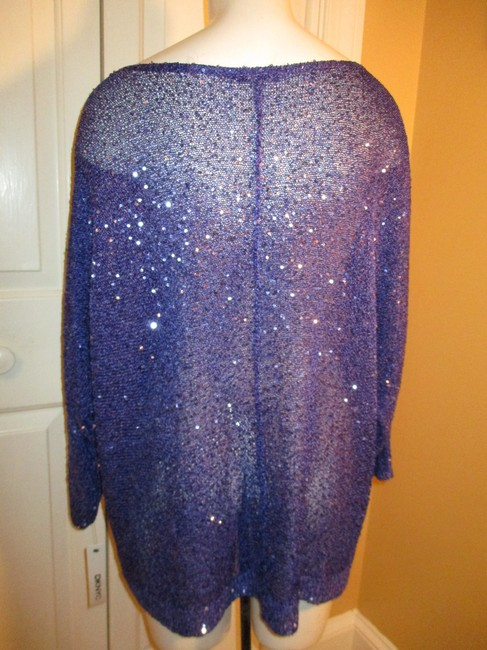 DKNY Knit Sparkley Sequin 001 Sweater Image 5
