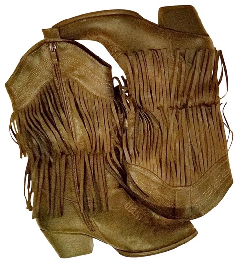 N/A Brown Boots Image 1
