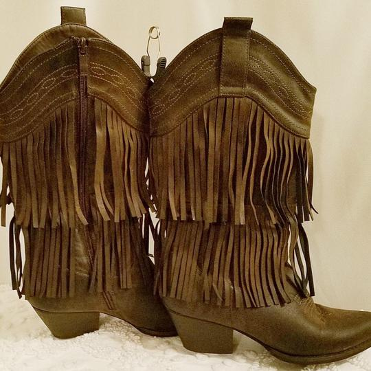 N/A Brown Boots Image 3