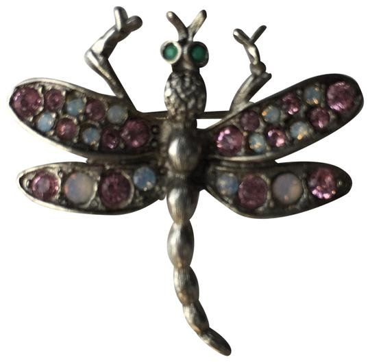 Preload https://img-static.tradesy.com/item/24389226/rj-graziano-silver-violet-and-opal-dragonfly-brooch-0-2-540-540.jpg