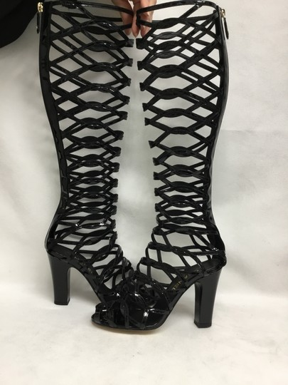 Chanel Black Boots Image 3
