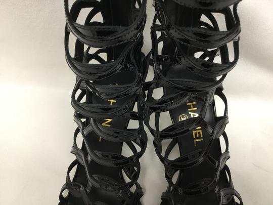 Chanel Black Boots Image 4