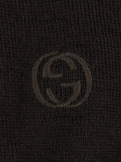 Gucci Dark Brown Cashmere Long Sleeve Polo Sweater M 244900 2060 Groomsman Gift Image 7