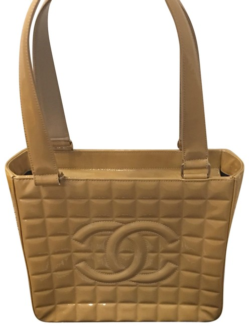 Item - 7604488 Nude Patent Leather Tote