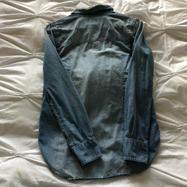 True Religion Button Down Shirt chambray Image 2