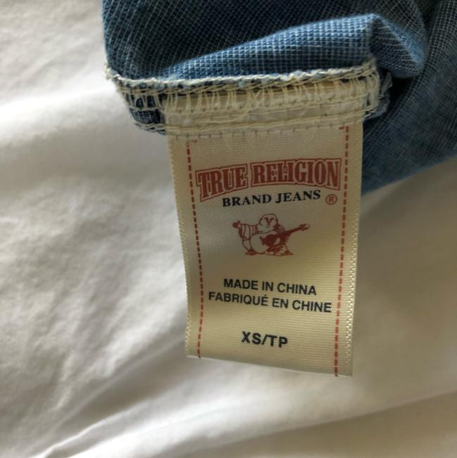 True Religion Button Down Shirt chambray Image 3