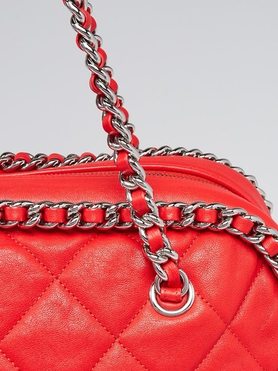 Chanel Chain Around Silver Hardware Tote Shoulder Bag Image 2