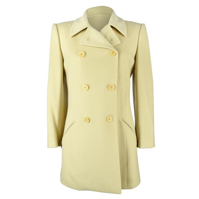 Preload https://img-static.tradesy.com/item/24389540/hermes-celadon-vintage-jacket-car-pale-green-remarkable-cut-38-coat-size-6-s-0-0-650-650.jpg