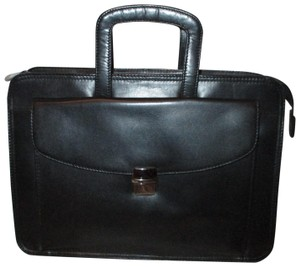 Scully Leather Briefcase 001 black Messenger Bag