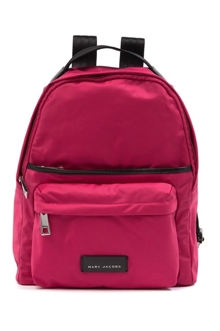 Item - Rugsack Pink Nylon Backpack