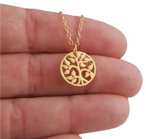Other New Gold Tree Pendant Necklace, Tree of Life Pendant Necklace.