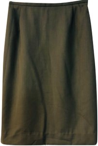 Jaeger Pencil Skirt Brown