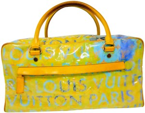 Louis Vuitton Monogram Leather Collecttion Pulp Satchel in Jaune (Yellow)