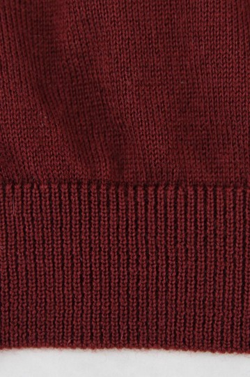 Gucci Wine Red XL W Men's Cashmere W/Gg Emblem Pullover Sweater 369065 6215 Groomsman Gift Image 6