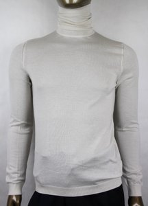 Gucci Light Beige Cashmere Turtle Neck Pullover Sweater 3xl 232169 2869 Groomsman Gift