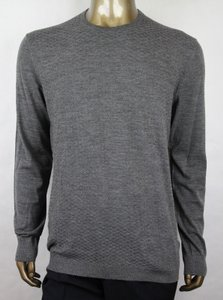 Gucci Gray Men's Wool Diamante Crew-neck Pullover Sweater 3xl 221752 1673 Groomsman Gift