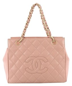 Chanel Caviar Tote in pink
