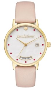 Kate Spade Kate Spade Women's Metro Quartz Vachetta Watch Quartz 'resolutions',