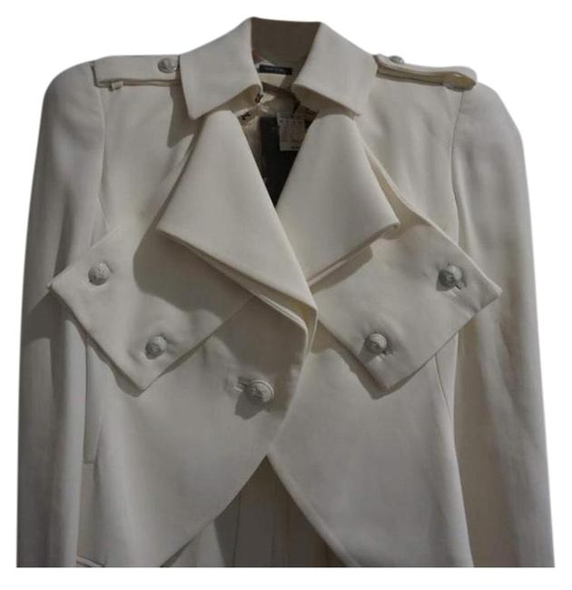 Item - White 263033 - High Low Jacket Size 4 (S)