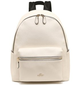 b0f35618d155 White Coach Backpacks - Up to 90% off at Tradesy