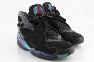 "Air Jordan Multicolor 8 Retro ""Aqua"" Shoes"