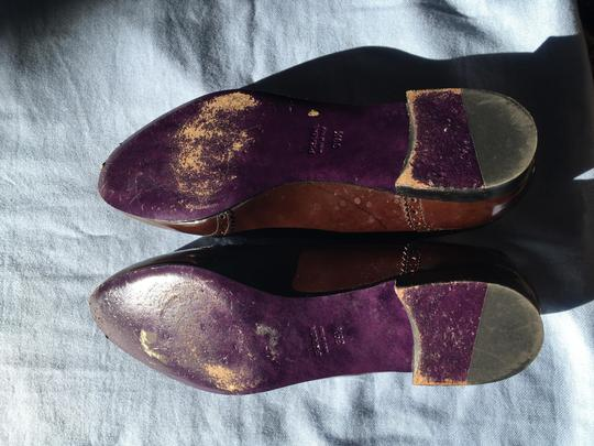 Prada Patent Leather Made In Italy Brown Flats Image 10