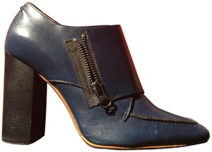 Valentino Avante Leather Blue Boots