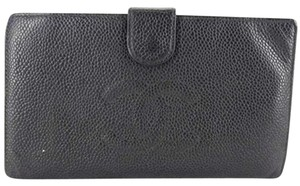 Chanel Chanel Caviar CC Black Wallet Clutch CCTL05