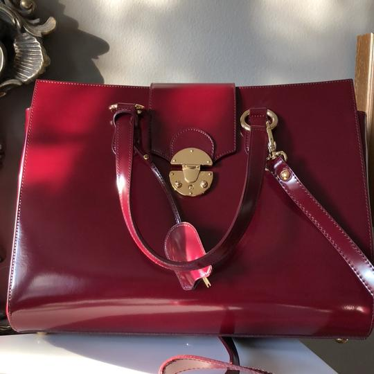 Other Tote in Burgundy Image 11
