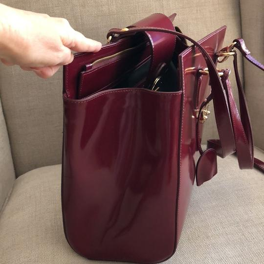Other Tote in Burgundy Image 9