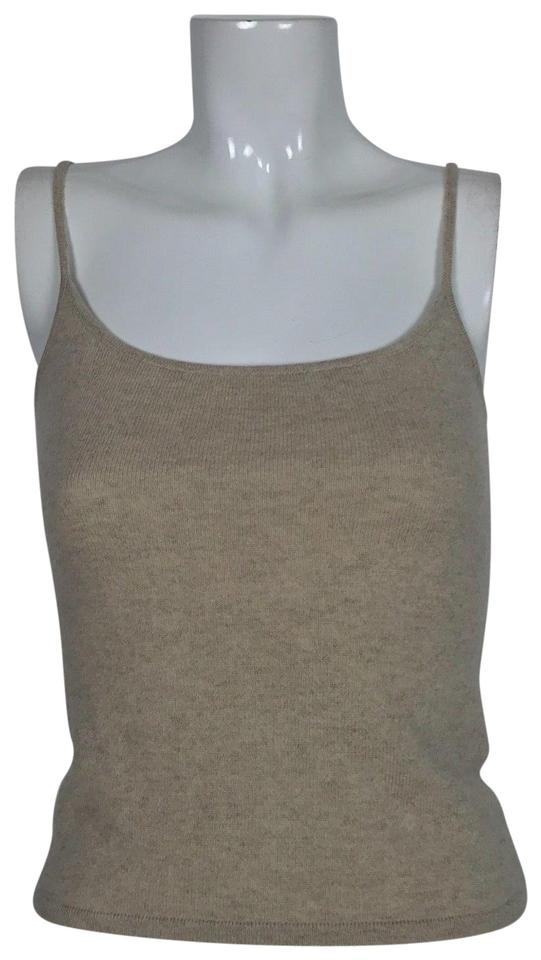 cfacca48ed2 Valentino Beige Sleeveless Women Made In Italy Tank Top Cami Size 4 ...