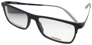 Carrera New CARRERA Eyeglasses CA 6664 GTN 55-17 145 Matte Black & Frost White