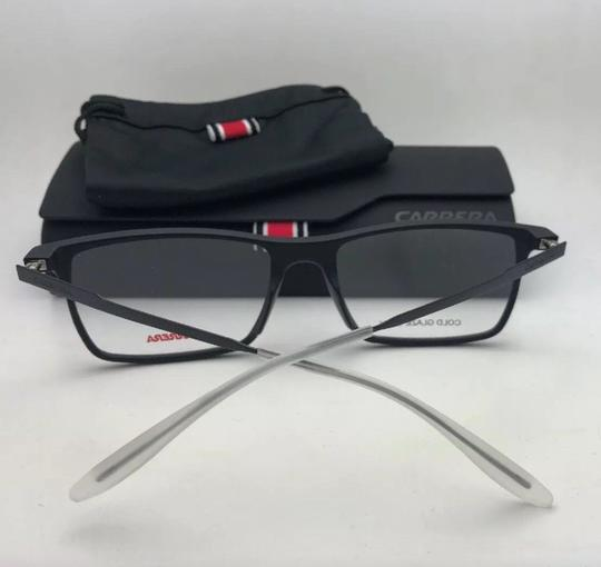 Carrera New CARRERA Eyeglasses CA 6664 GTN 55-17 145 Matte Black & Frost White Image 10