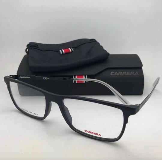 Carrera New CARRERA Eyeglasses CA 6664 GTN 55-17 145 Matte Black & Frost White Image 8