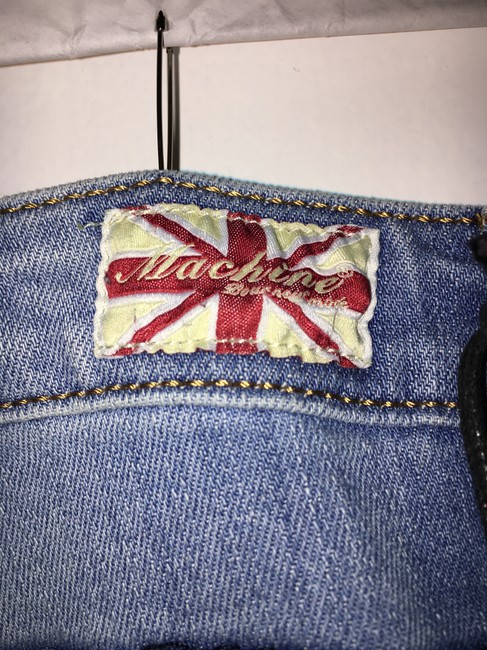 Machine Nouvelle Mode Size 9 Distressed Sequin Skinny Jeans-Distressed Image 5