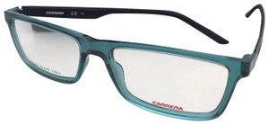 Carrera New CARRERA Eyeglasses CA 8818 PMP 55-17 140 Teal Blue Pewter & Black